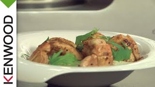 Recette de risotto de langoustines au Cooking Chef de Kenwood