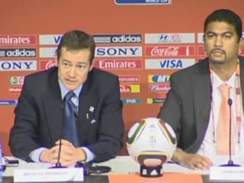 FIFA World Cup 2010 - FIFA won't say sorry for mistakes - Lampard and Argentina