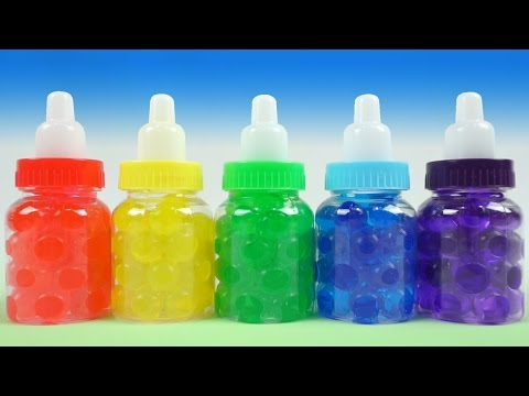 Learn Colors & Counting with ORBEEZ! Fun Learning Lesson Videos for Toddlers Kids by 'Toy Jelly'