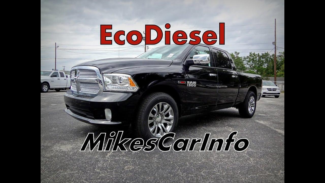 Eco Diesel 2014 Ram 1500 Laramie Limited Edition Crew Cab