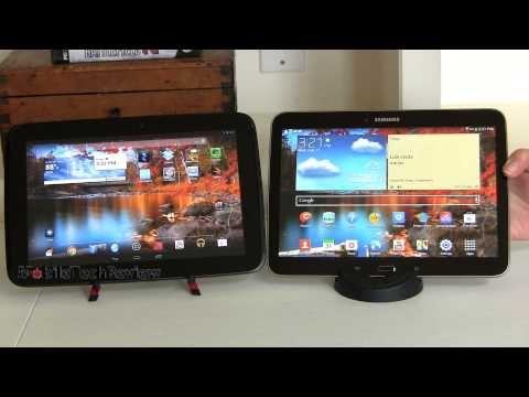 Samsung Galaxy Tab 3 10.1 vs  Google Nexus 10 Comparison Smackdown