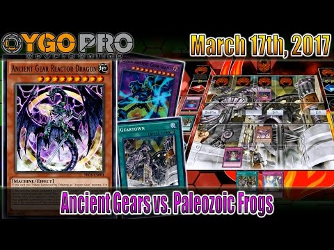 Ancient Gears vs. Paleozoic Frogs (YGOpro Duels) Yu-Gi-Oh! March 17, 2017