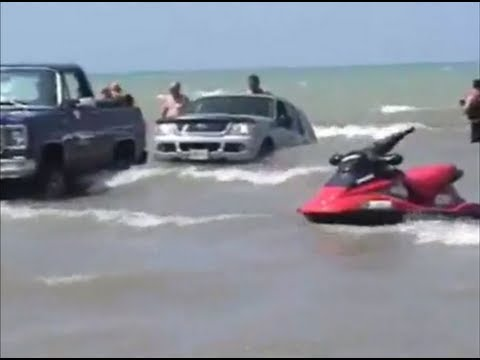 Watch Funniest boat launch ever!