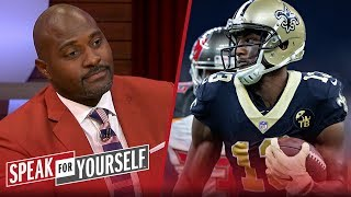 New Orleans Saints did not 'overvalue' Michael Thomas at $100M — Wiley | NFL | SPEAK FOR YOURSELF
