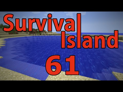 Minecraft- Survival Island [61] Clearing Water!