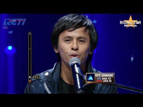 "Tiroy Sihotang ""Immortal Love Song"" Mahadewa - Rising Star Indonesia Eps Live Audition 5"