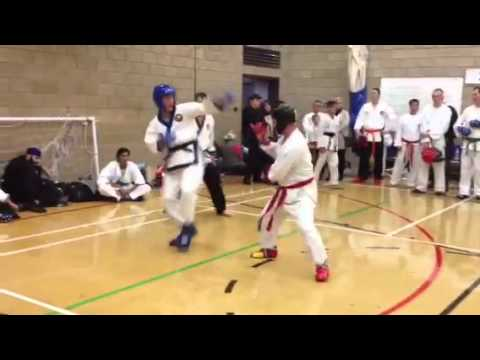 Tang Soo Do Sparring Round 2 of 4 Image 1
