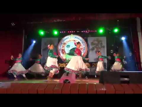 jayathi jayathi bharath maatha fueshion dance