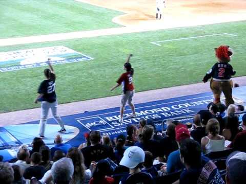 Cotton Eye Joe Dance, Richmond County Bank Ballpark at St. George, Staten Island, New York, July 18, 2009 See also: ...