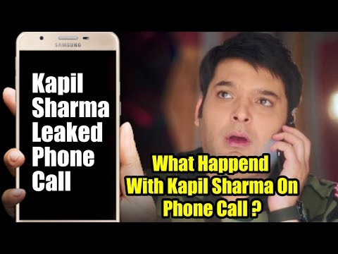 Kapil Sharma LEAKED Phone Call Recording | FAKE NEWS CONTROVERSY thumbnail
