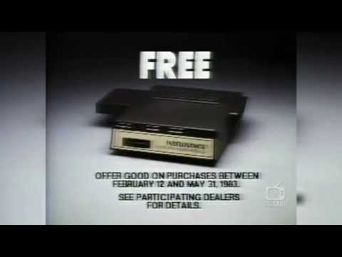 Intellivision - B-17 Bomber with IntelliVoice (US) (1983) TV Spot