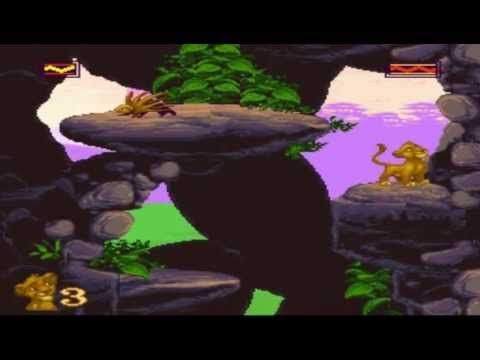 SNES - The Lion King - The Pridelands