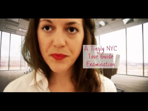 Travel ASMR Roleplay: A Tingly NYC Tour Guide Exam