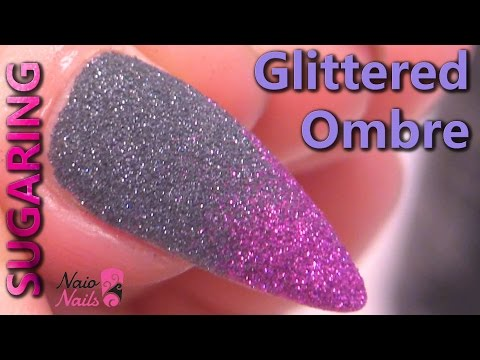 How to Create a Glittered Ombre Fade