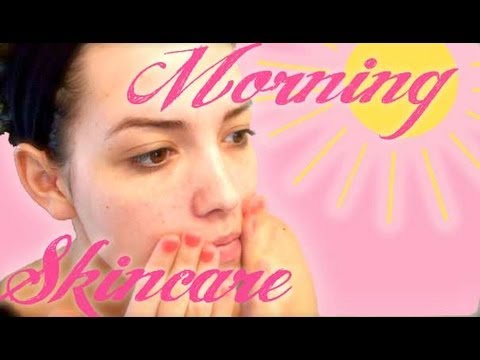 ❤ My Morning Skincare ❤ Moderate/Severe Acne Prone Skin