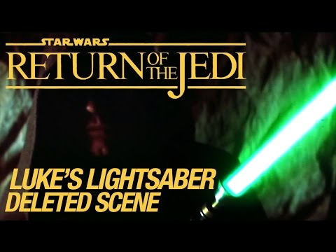 Star Wars Vi Return Of The Jedi Deleted Scene: Luke's Lightsaber Hd video
