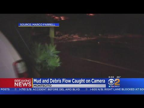 Caught On Video: Flash Flood Bears Down On Montecito