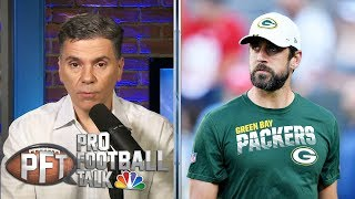 Aaron Rodgers confident about relationship with Matt LaFleur | Pro Football Talk | NBC Sports