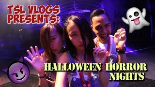 HALLOWEEN HORROR NIGHTS 2016 - FIRST LOOK! | TSL Vlogs