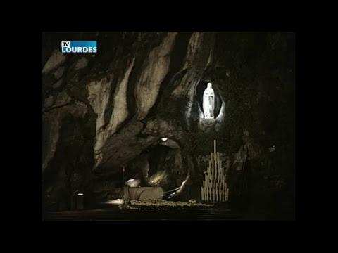 Diffusion en direct de la Grotte de Lourdes
