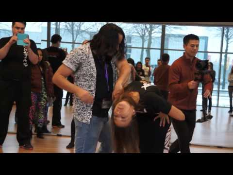 00116 AZNLZF2017 Anna and Mafie ACD ~ video by Zouk Soul