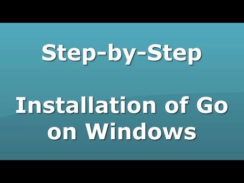 Step-by-Step Go Installation On Windows