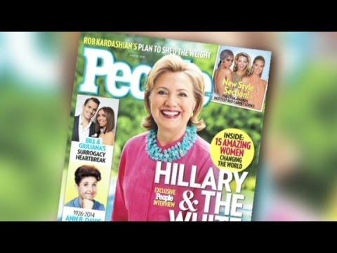 Hillary Clinton plots media blitz