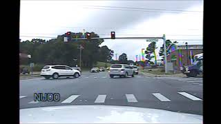 Jonesboro AR Police Officer flips car