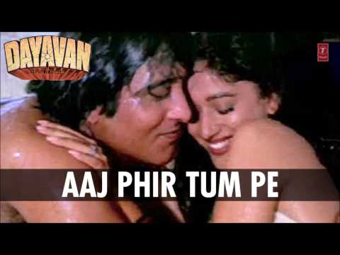 Aaj Phir Tum Pe Pyar Aaya Full Song (Audio) | Dayavan | Vinod...
