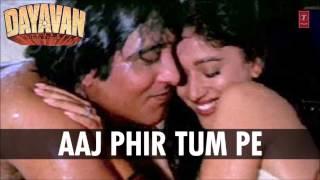 Aaj Phir Tum Pe Pyar Aaya Full Song (Audio)   Dayavan   Vinod Khanna, Madhuri Dixit