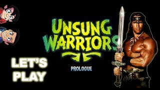 Playing Co-Op ! - UNSUNG WARRIORS : PROLOGUE | GAMEPLAY | Goofin Group