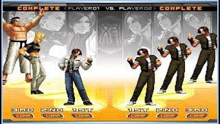 King of Fighters 2002 UM - Three Kyos Team Playthrough