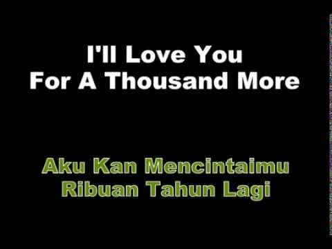 A Thousand Years - Christina Perri Lyrics | Terjemah