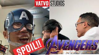 Khi bạn là người đầu tiên xem Avenger EndGame ở công ty