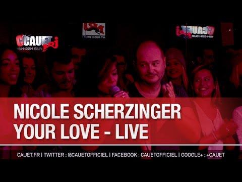 Nicole Scherzinger - Your Love - live - C'Cauet sur NRJ