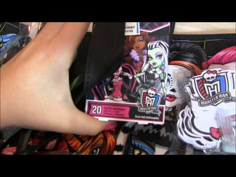 MONSTER HIGH GOOSEBUMPS EVER AFTER HIGH NYCC 2013 TRIP HAUL VIDEO !!! :D!!