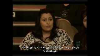 جواب هیچنز به یک زن ایرانی مسلمان متوهم کاملاً دروغگو