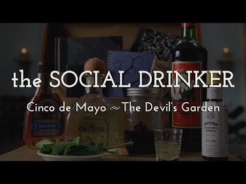 Best Cinco de Mayo Cocktail! - The Social Drinker - How to Make a Devil's Garden