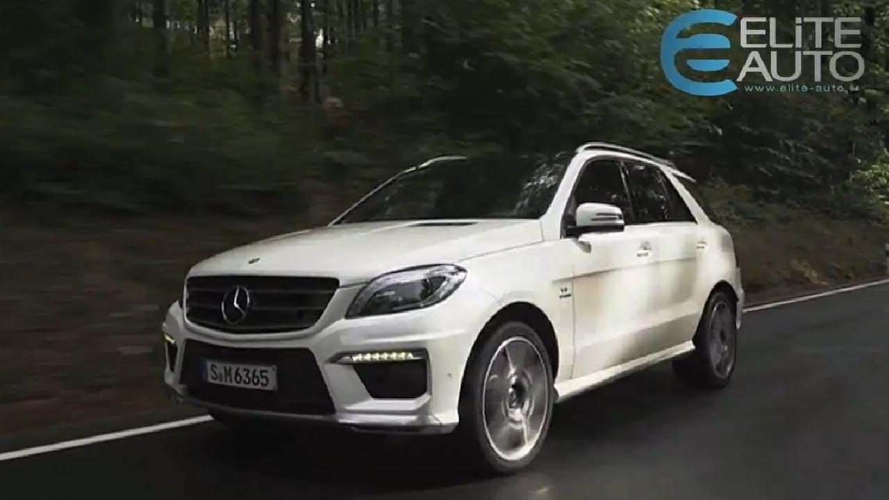 Mercedes Ml 400 Cdi Youtube