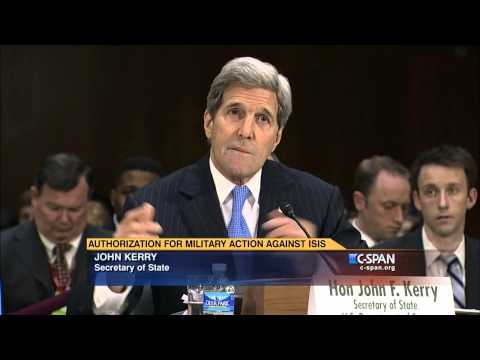 Secretary Kerry on Letter to Iran (C-SPAN)