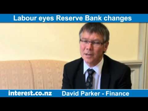 David Parker on monetary policy