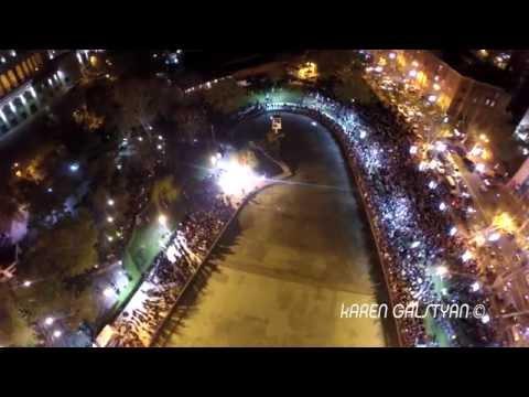 Քանյե Ուեսթի երևանյան համերգը | Kanye West Crazy Concert in Yerevan Swan Lake