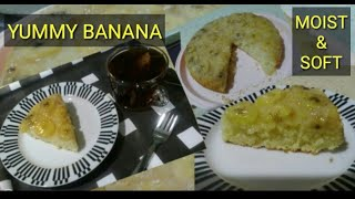 For this simple recipe,you can eat moist and soft banana cake/HOW TO MAKE BANANA CAKE?#3
