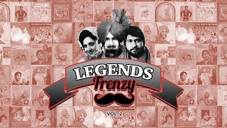 LEGENDS FRENZY - Vol.2 (Jagga Jatt)  |  Manak, Shinda & Jagmohan Kaur  |  DJ FRENZY  |  Punjabi Folk