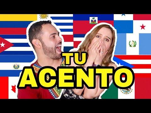 RETO de ACENTOS LATINOAMERICANOS - COLOMBIA EL SALVADOR ESPAÑA MEXICO