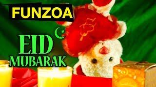 Cute Eid Mubarak Song – Funzoa Funny Videos   Mimi Teddy Video   Funny Eid Greeting Song
