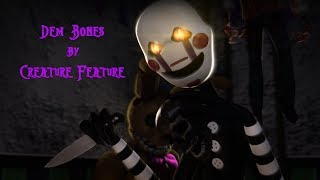 download lagu Fnaf Sfm Dem Bones By Creature Feature gratis