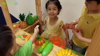 Đồ chơi nhà bếp trẻ em, Su gặp phải chị Hàn Quốc_Su Ly TV📺