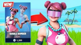 New BUBBLE BOMBER Skin! (Fortnite Battle Royale)