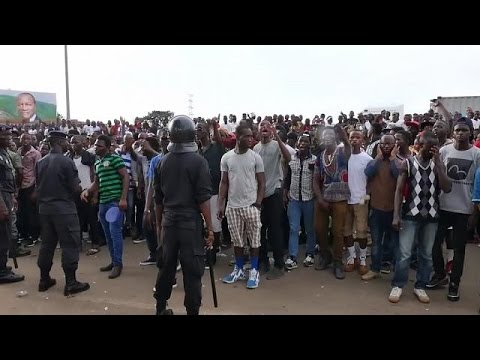 Concert to celebrate the end of Ebola outbreak in Guinea
